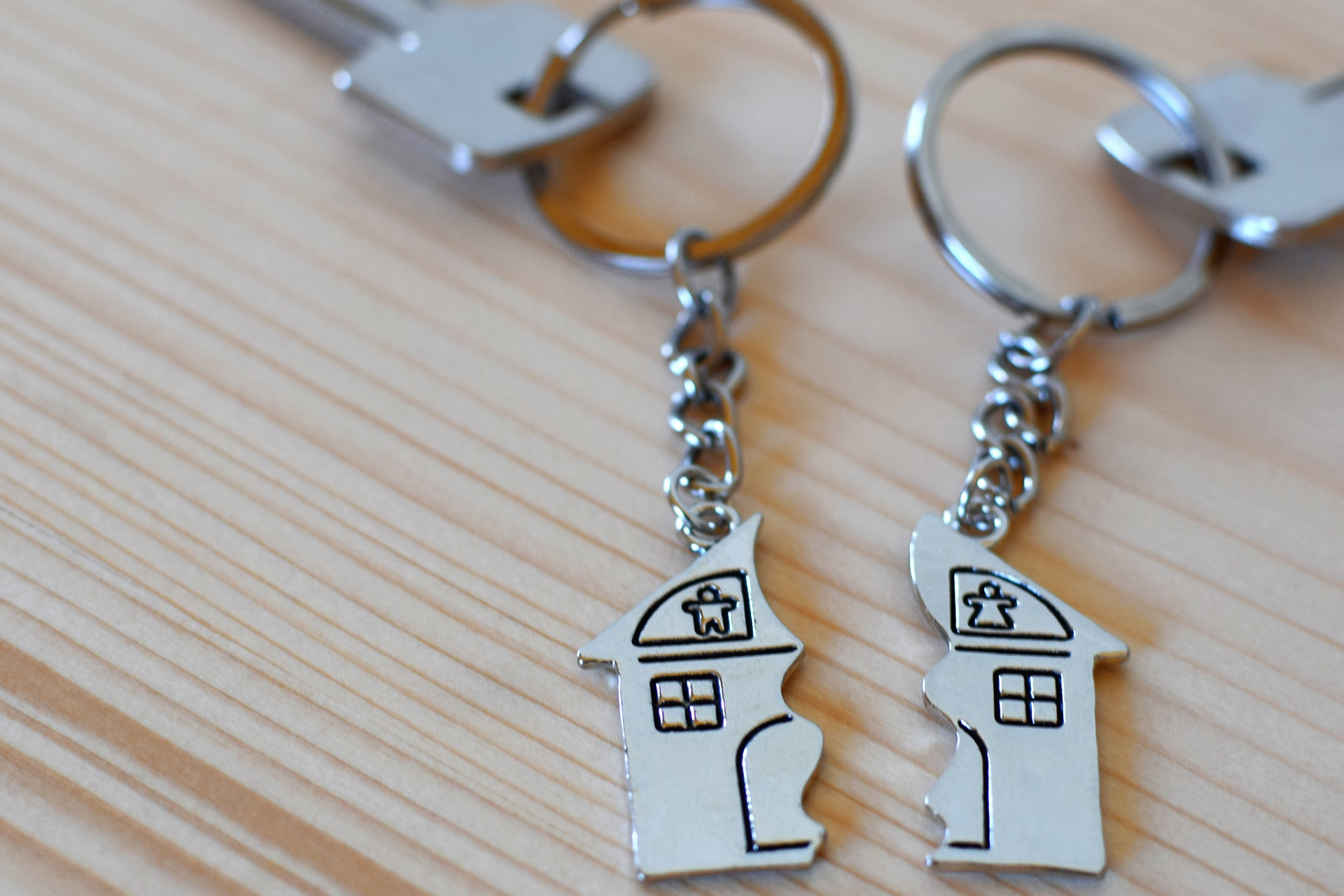 Keychains with Split House